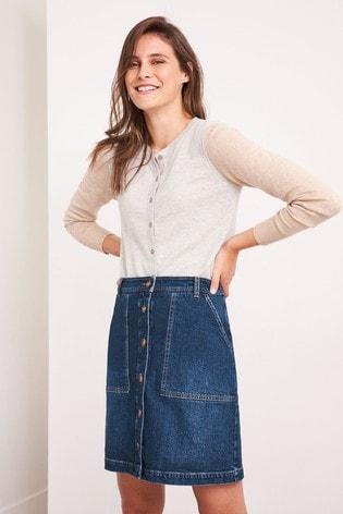 White Stuff Denim Canterbury Denim Skirt