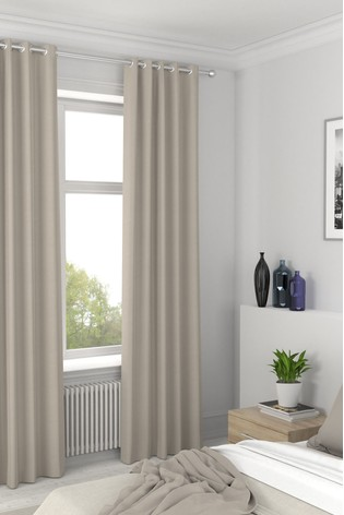 Cotton Natural Cream Made To Measure Curtains