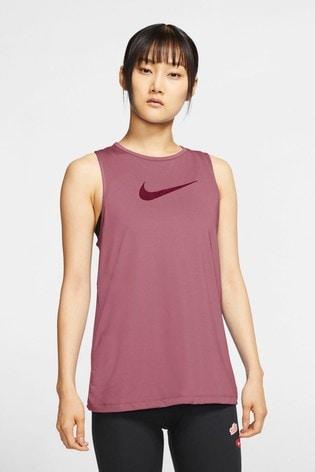 Nike Pro Berry Essential Swoosh Tank Top