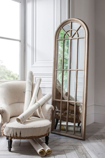 Currie Weathered Mirror by Gallery Direct