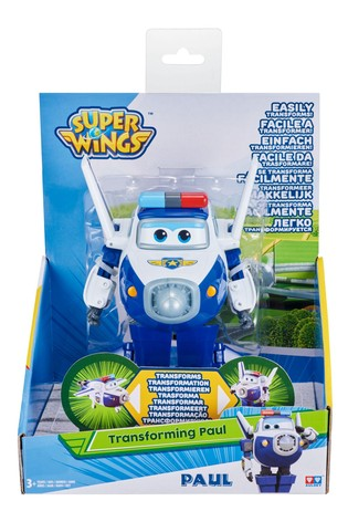 Super Wings Transforming Vehicles - Paul