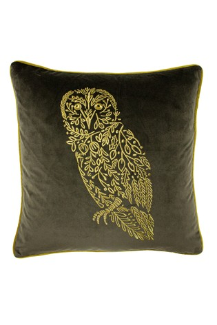 Forest Fauna Owl Cushion by Furn