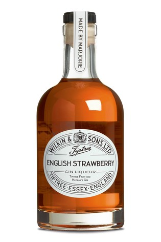 English Strawberry Gin Liqueur 35cl by Tiptree