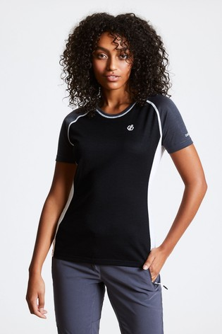 Dare 2b Black Fixate Wool T-Shirt