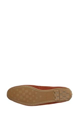 Clarks British Tan Reazor Penny Shoes