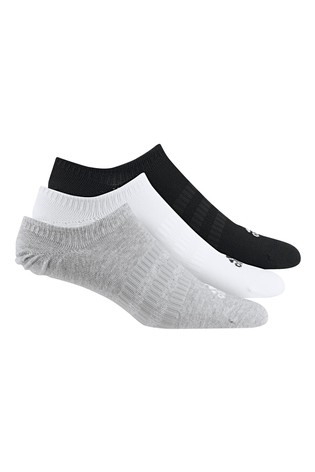 adidas Kids Multi Invisible Socks Three Pack