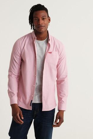 Superdry Long Sleeve Classic University Oxford Shirt