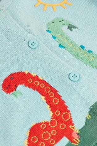 Brights Dinosaur Cardigan (0mths-3yrs)