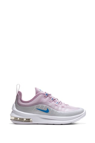 Nike White/Pink Air Max Axis Junior Trainers