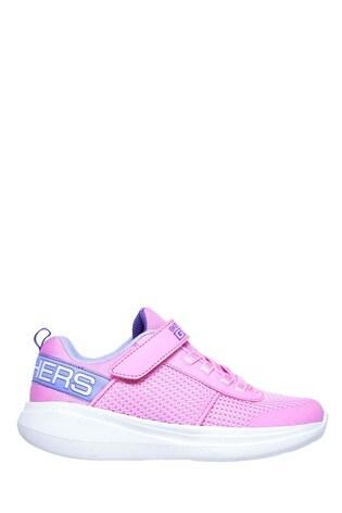 Skechers® Pink Go Run Fast Viva Valor Trainers
