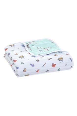 aden + anais™ Essentials cotton Muslin Blanket Harry Potter™