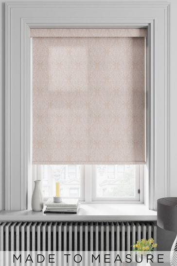 Moselle Damask Pink Made To Measure Roller Blind