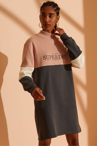 Superdry NYC Times Colourblock Dress