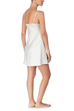 Lauren Ralph Lauren® Signature Satin Double Strap Lace Chemise