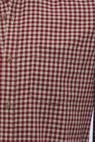 M&Co Men Red Gingham Shirt