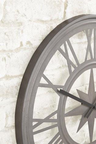 Outdoor Compass Wall Clock