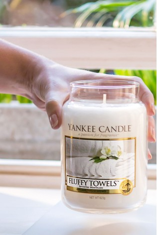 Yankee Candle Classic Large Fluffy Towels Candle