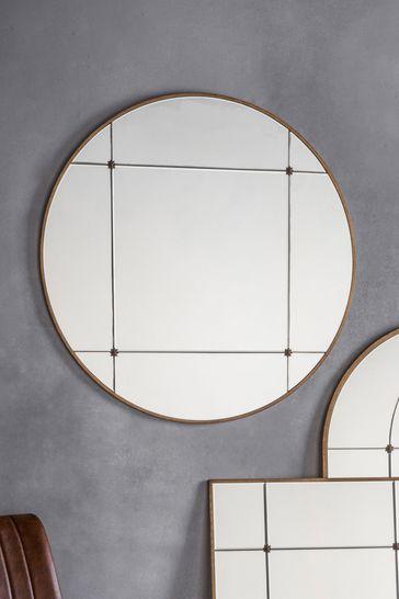Gallery Direct Hamilton Round Mirror