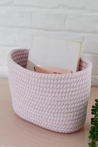 Woven Rope Storage Basket