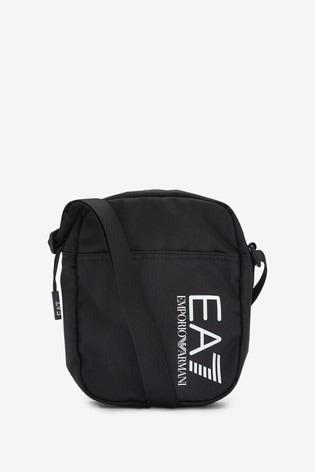 Emporio Armani EA7 Black Medium Cross Bag