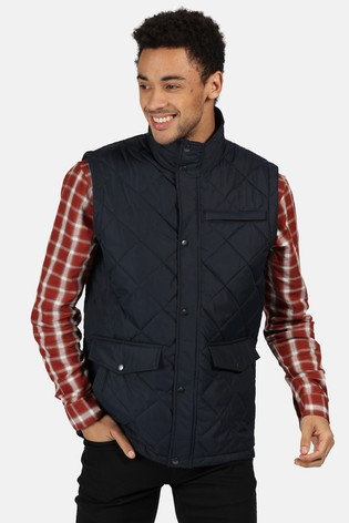 Regatta Blue Locke Quilted Bodywarmer