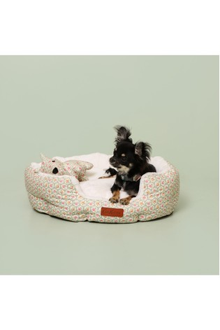 Washable Provence Rose Small Dog Bed by Cath Kidston®