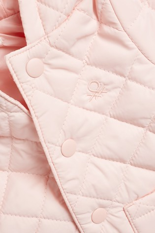 Benetton Pink Quilted Jacket