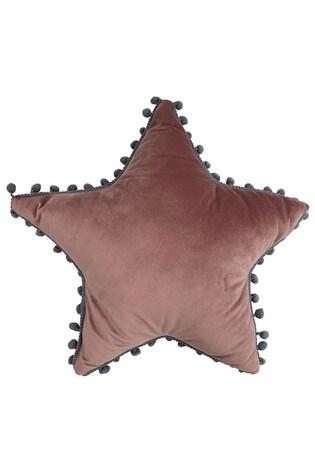 Little Furn Star Pom Pom Cushion by Furn