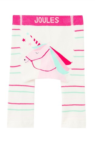 Joules Pink Winter Lively Single Pack Character Leggings