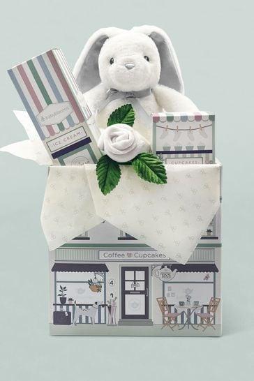 Babyblooms Grey Bunny Welcome Baby Gift