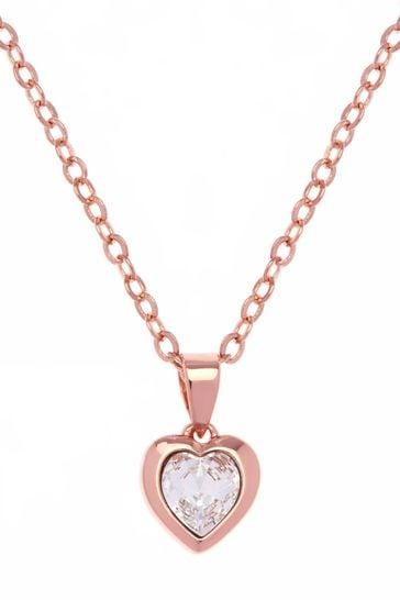 Ted Baker Hannela Crystal Heart Pendant