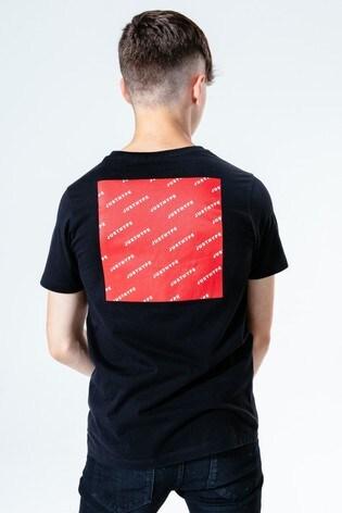 Hype. Kids Black JH Square T-Shirt