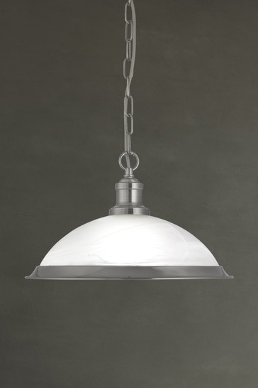 Walls 1 Light Pendant by Searchlight