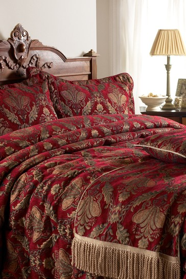 Shiraz Chenille Embroidered Throw by Riva Home