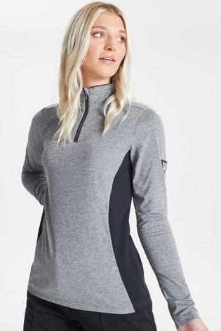 Dare 2b Grey Bejewel Core Stretch Sweater