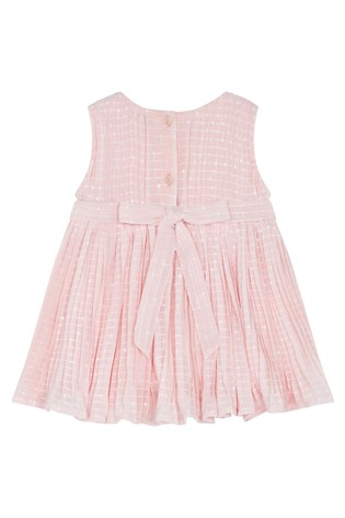 F&F Pink Pleated Occasion Dress