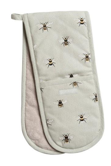 Sophie Allport Bee Double Oven Glove