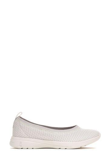Hush Puppies Grey Good Ballet Slip-On Shoes