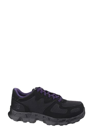 Timberland® Pro Black Powertrain Low Lace-Up Safety Shoes