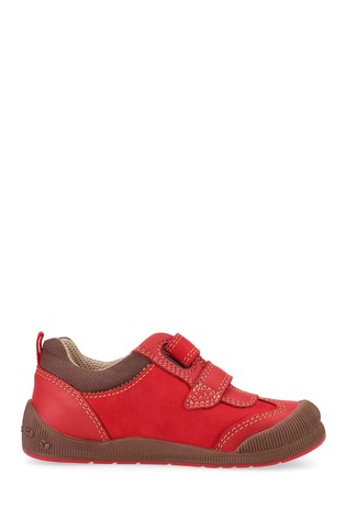 Start-Rite Tickle Red Nubuck Leather Shoes