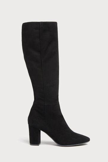 L.K.Bennett Sirena Block Heel Knee Boots