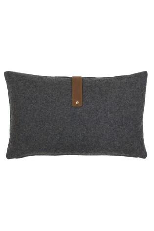 Riva Home Grey Brix Reversible Cushion