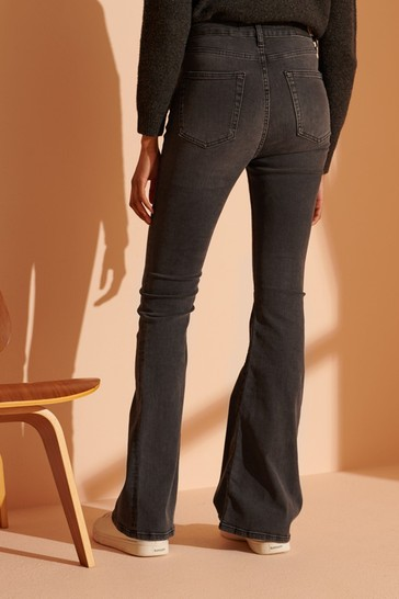 Superdry High Rise Skinny Flare Jeans
