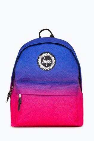Hype. Purple Pink Visage Speckle Fade Backpack
