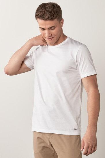 White Premium Cotton T-Shirt