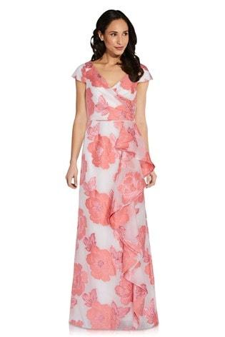 Organza Jacquard Gown