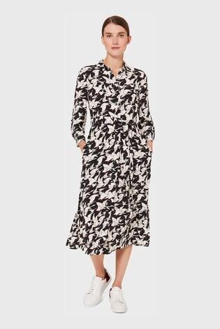 Hobbs Black Elina Dress