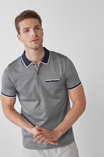 Navy Premium Cotton Polo