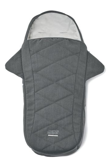 Strada Footmuff in Grey Mist by Mamas and Papas