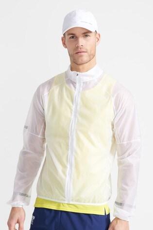Superdry Sport White Run Membrane Jacket
